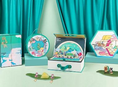 【方森园】端午礼盒包装设计——《独占龙头》