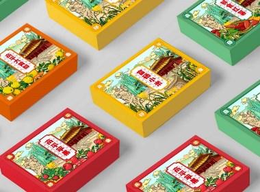 区域特产礼盒设计