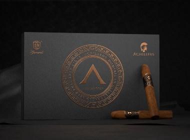 战神雪茄品牌包装设计|东德品牌包装设计|雪茄包装设计