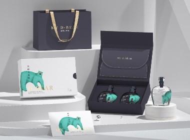 新中式国潮风酒业品牌创意产品全套礼盒包装VI设计