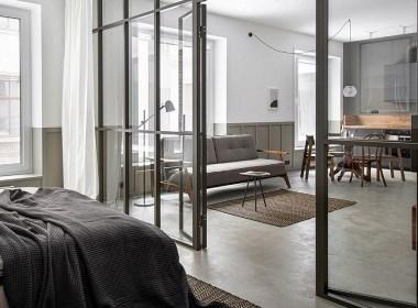 一室小公寓,简约设计独有的格调美