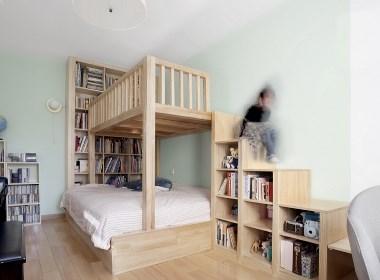 「久栖设计」一居变两居,小房住的别有用心