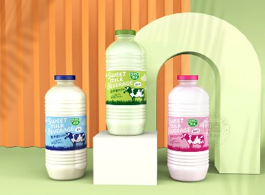 啟木甜牛奶包裝設計-四喜包裝設計