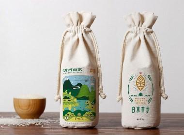 滑石白水 × 楓橋設計「貢米才有自然香」