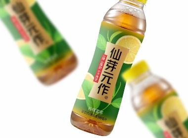 柠檬蜜茶饮料包装