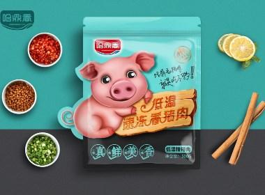 哈鼎香猪肉 就是吃不够!