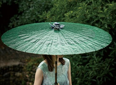 """""""油纸伞""""—烟雨朦胧的江南"""