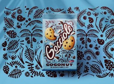 手繪插畫結合實物照片的包裝設計欣賞 | 創意 美食 零食 美味