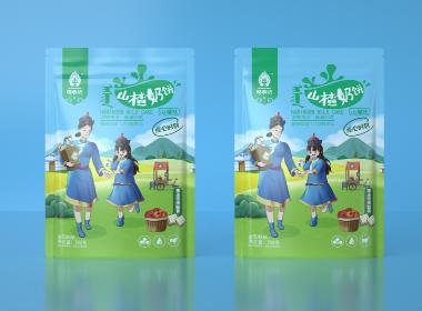 沃爱广告 阿希达 —— 奶贝、奶茶、牛肉干包装设计