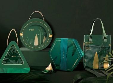 【方森园】端午礼盒包装设计——《礼遇臻粽》