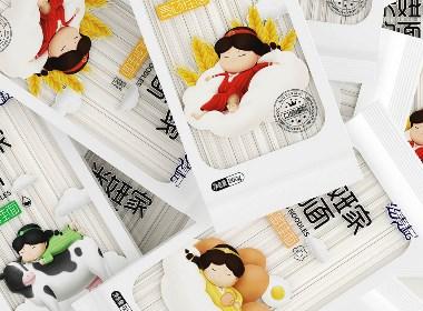 兒童掛面系列包裝設計思路