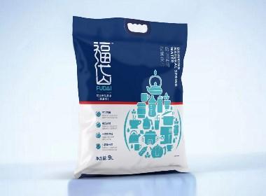 April作品「福岱」袋装水包装设计