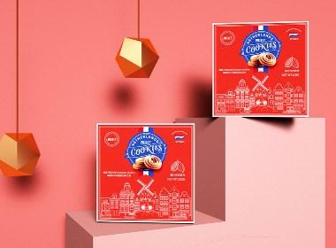 茉小七曲奇饼包装设计【圣智扬2020年作品】
