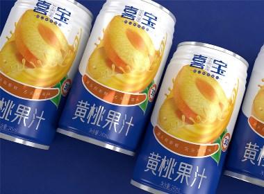 喜宝西米露/黄桃果汁—徐桂亮品牌设计