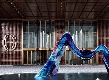 杨邦胜设计/南京金鹰G酒店,美国金钥匙最佳高档酒店设计大奖