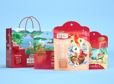 沃爱广告 华亚香 —— 鸭脖、鸭爪包装设计