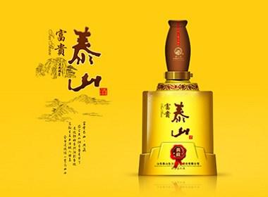 泰山典藏系列白酒包装设计