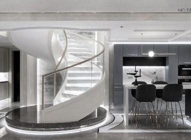 杭州私宅设计丨蓝爵艺术空间完美演绎