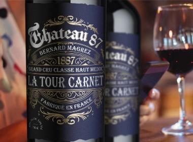 法国Bordeaux波尔多红酒包装设计 | 摩尼视觉原创