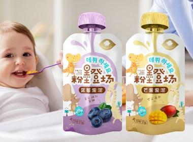 韩国Maria Holic婴儿果泥系列包装设计|摩尼视觉原创