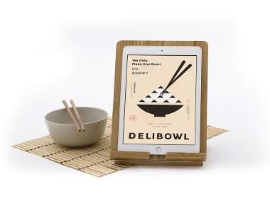 壹碗簡中式餐飲品牌logo、vi設計-席設計