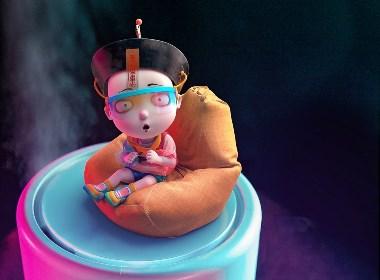 僵小魚穿越未來世界,走進智能生活 | 僵小魚壁紙