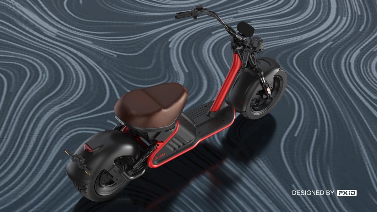 踏板哈雷电动车设计