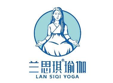 蘭思琪瑜伽品牌全案升級 標志設計 VI設計 物料設計