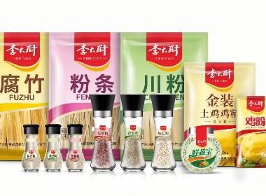 李大厨调料 调料调味品包装设计