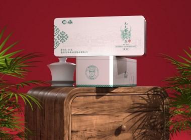苗族元素茶叶包装设计白铁盒礼盒设计