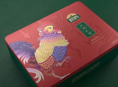 晨鳴扒雞—徐桂亮品牌設計