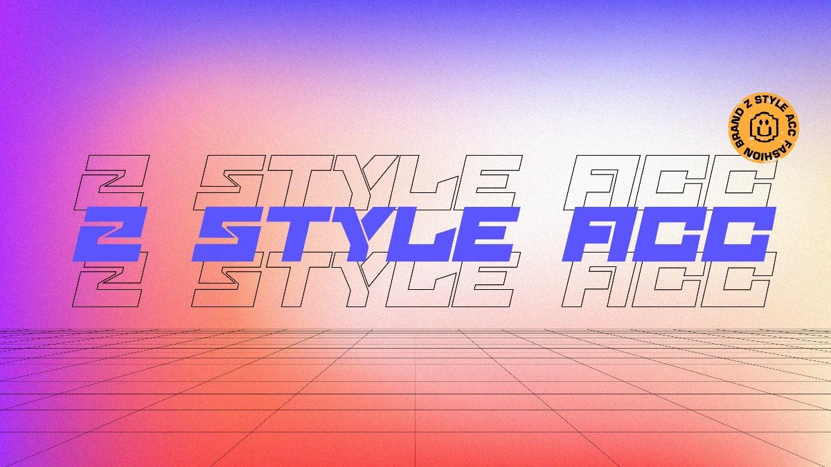 自由饰Z STYLE ACC 潮流饰品网红品牌设计