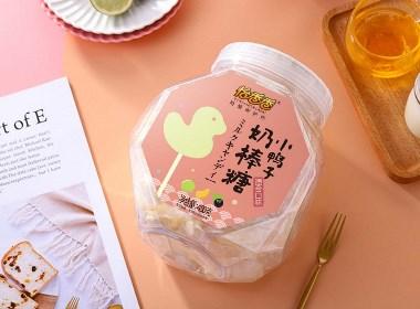 儿童食品奶棒糖包装设计