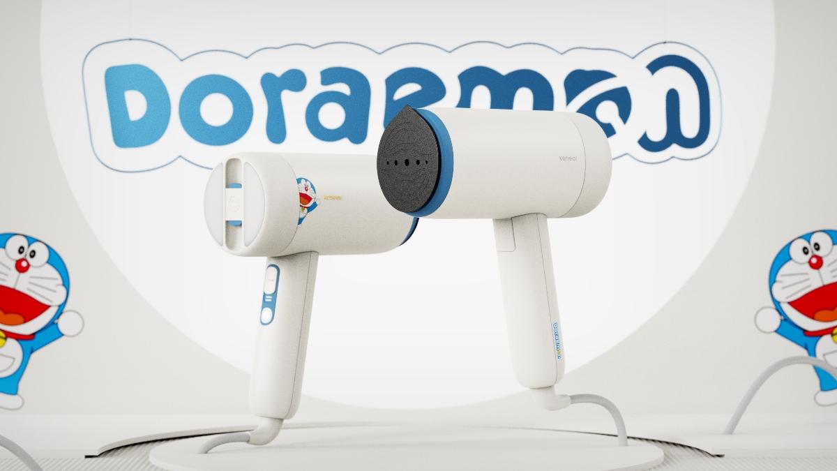 科西 × 哆啦A梦 联名款挂烫机