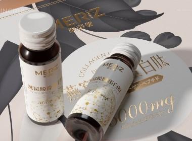 保健品包装设计 燕窝胶原蛋白肽 特殊饮品 口服液 包装设计©刘益铭 原创作品