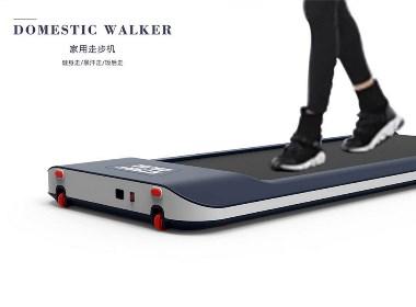 爱生活爱运动的走步机设计