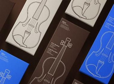 Oslo Cremona 小提琴品牌形象设计