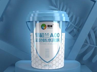 隆巢防水涂料—徐桂亮品牌设计
