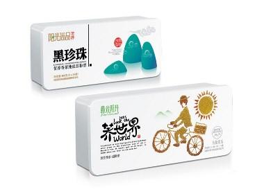 火麒麟作品 丨苦荞茶包装设计