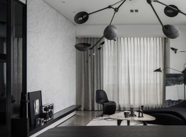木维设计丨重色系独居私宅
