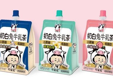 六鹿设计x奶白兔-牛乳茶