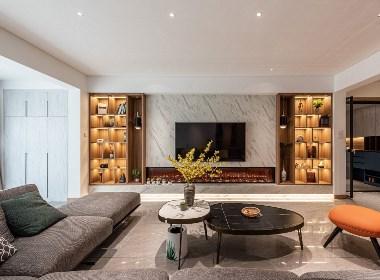 逸园雅居 · 现代住宅空间设计|长空创作
