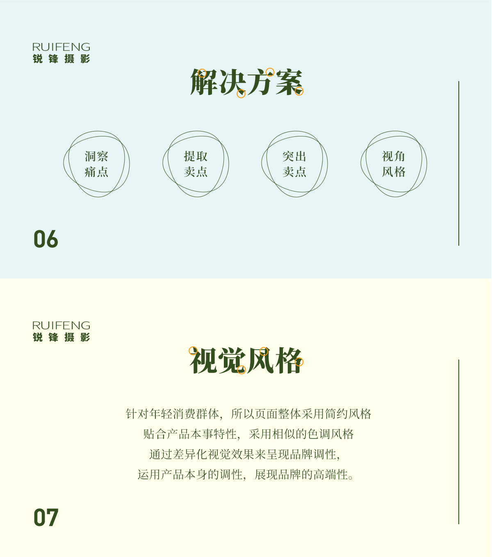 武汉电商设计 茶叶首页视觉海报设计 养生茶品牌策划