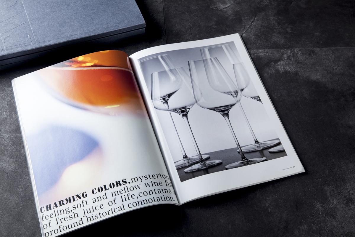 尚好玻璃画册策划拍摄设计