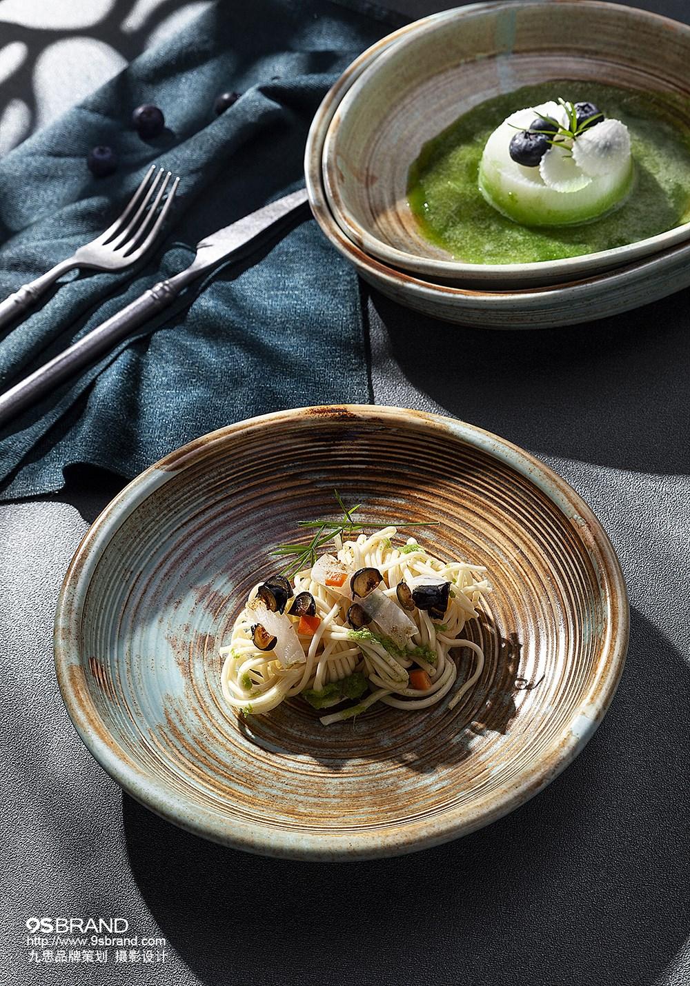 陶瓷餐具美食摄影