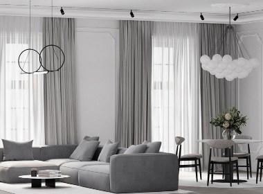 绿色系公寓设计 四月缱绻的生机浪漫