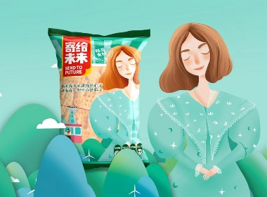 零食包裝   寄給未來鍋巴包裝設計