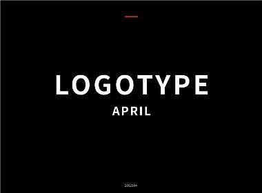 字型设计 4月