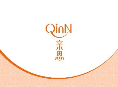 母嬰護膚品品牌設計logo vi簡約溫柔