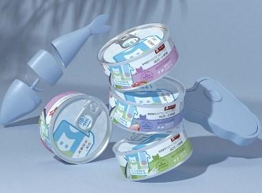五克氮²×旺芙小鲜罐 | 猫狗宠物罐头包装设计